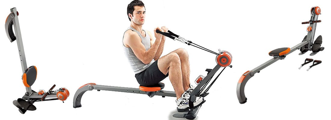 Body Sculpture BR3010 Rower 'N' Gym