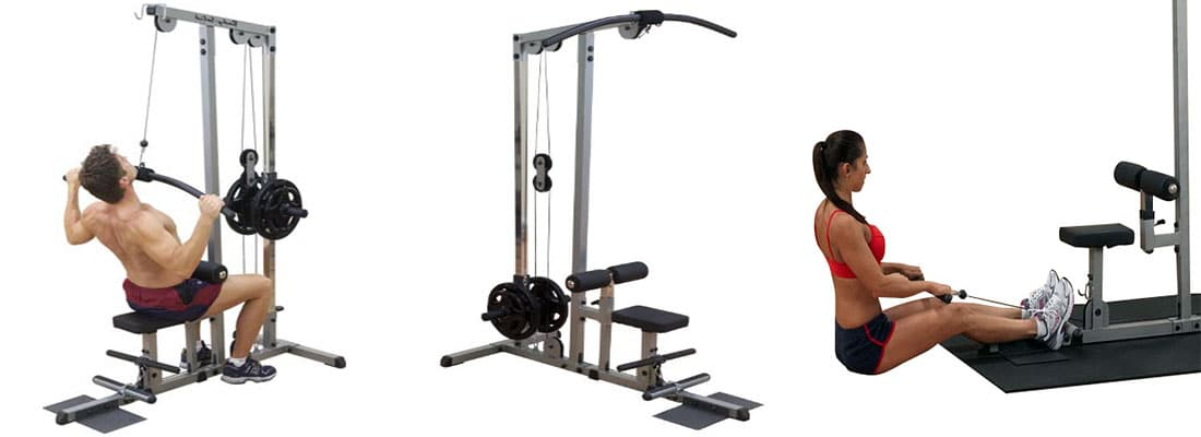 Body Solid Pro Lat Machine GLM83